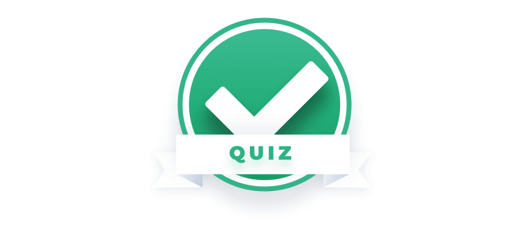 Quiz sign checkbox