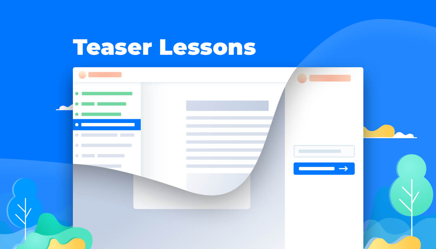AcademyOcean Feature: Teaser Lessons