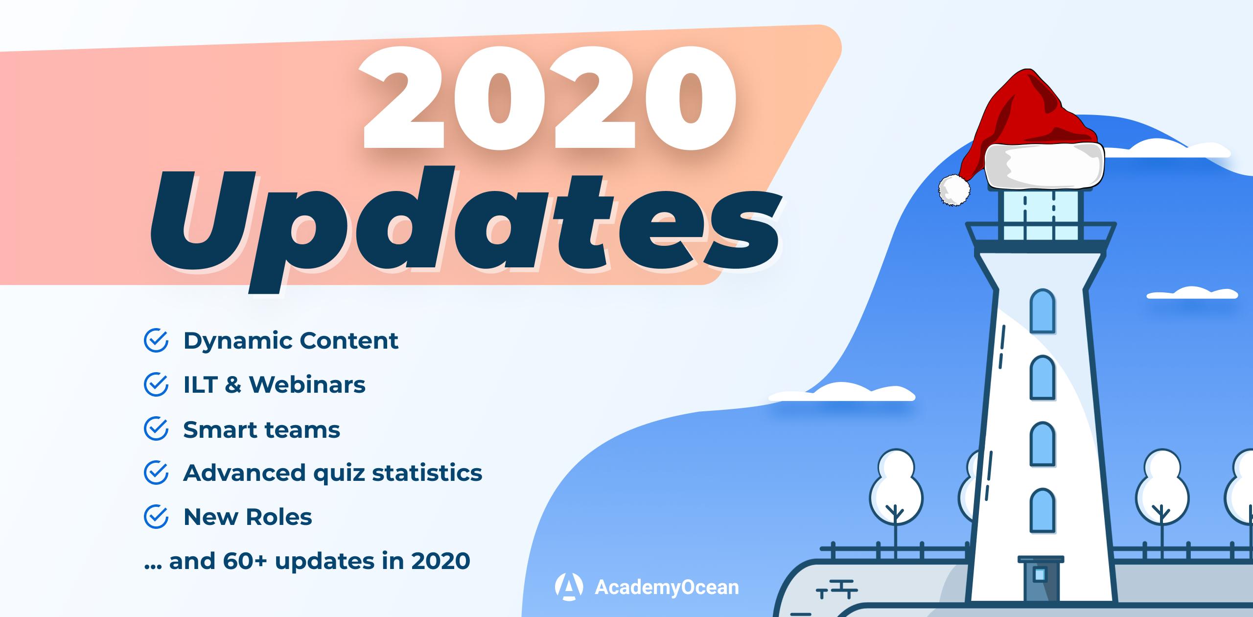 AcademyOcean 2020 Update